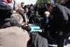 تجدید میثاق با شهدا در آستانه شهادت حضرت زهرا(س) در واحد نجف آباد