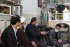 دیدار معاون فرهنگی و دانشجویی دانشگاه آزاد اسلامی با خانواده شهید حججی