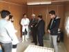 بازدید رئیس دانشگاه آزاد اسلامی نجف آباد از مراکز رشد دانشگاه